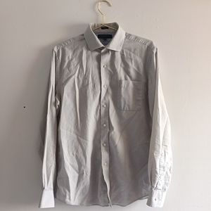 Tommy Hilfiger Fitted Button Down Shirt 15.5 Neck